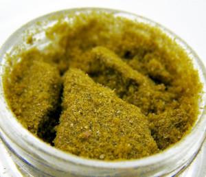 Gold Dust often has a flaky/dusty texture.